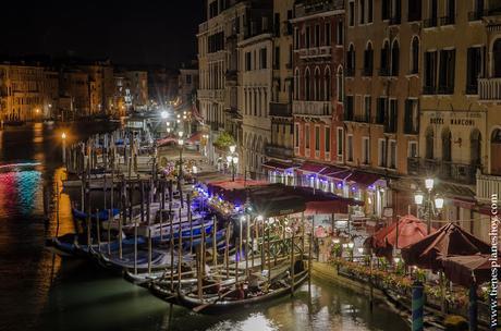 Viaje Venecia Italia noche