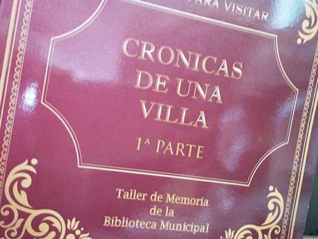 """Navas del rey presenta """"Crónicas de una Villa"""""""
