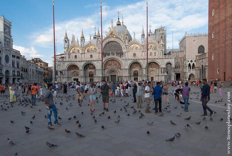 Basílica de San Marcos Plaza visitar Venecia entradas blog Italia