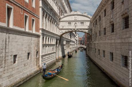Venecia Puente de los Suspiros Italia viaje Italia