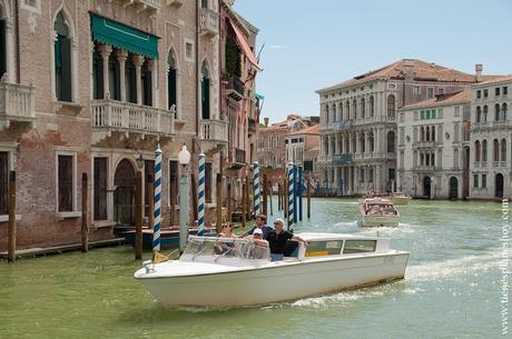 Venecia canal palacios viaje a Italia turismo