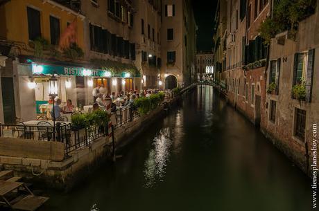 Cena romántica Venecia DOrsoduro viaje Italia