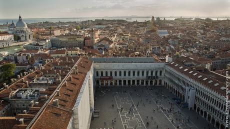 Vistas Campanile Venecia Plaza San Marcos Italia