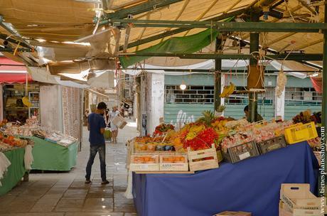 Mercado de Rialto Venecia Italia turismo