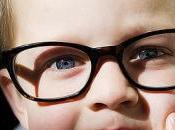 Cuidado vista niños pequeños