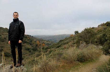 Vista del paisaje de las Arribes del Duero en el sendero del Pozo Airón