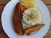 Arroz aromatico salmon limon