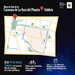 Este sábado Chile se une a La Hora del Planeta