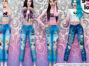 GML's Patched Boyfriend Jeans (Sims