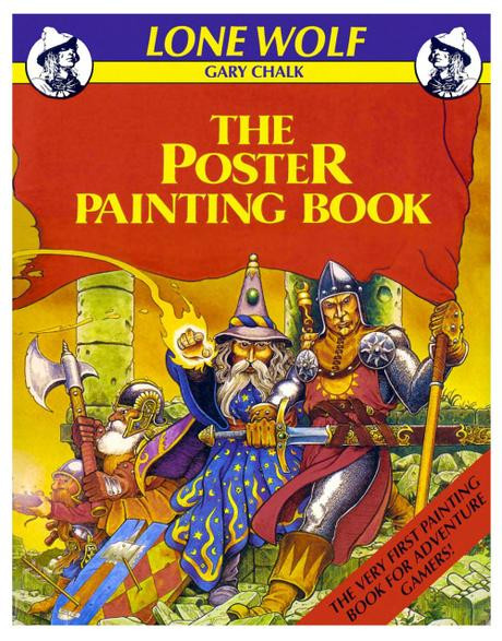 Lone Wolf :The Poster Painting Book, de Gary Chalk