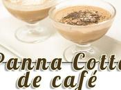 Panna cotta café