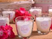 Detalles artesanales para bautizos; velas aromáticas, jabones caseros, bálsamos.