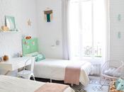 Reformas trêsDISEÑO INTERIOR, AMUEBLAMIENTO DECORACIÓN PISO ANTIGUO CENTRO VALENCIA: dormitorio niñas