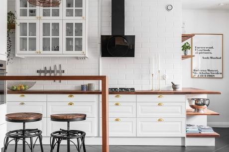 Dise o de cocinas abiertas al sal n paperblog for Disenos cocinas abiertas
