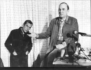 Cine en fotos: Ingmar Bergman y Jorn Dönner