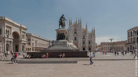 PLaza Duomo piazza Milán que ver Viaje Italia turismo