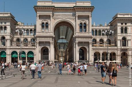 Galerias Vittorio Enmanuelle II Milan turismo viaje