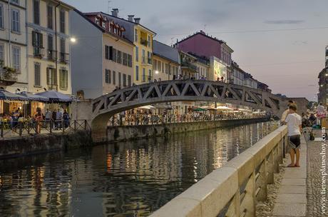 Canales Milán Navigli turismo Italia encanto