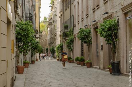 Cuadrilatero de la moda Milán visitar viaje turismo
