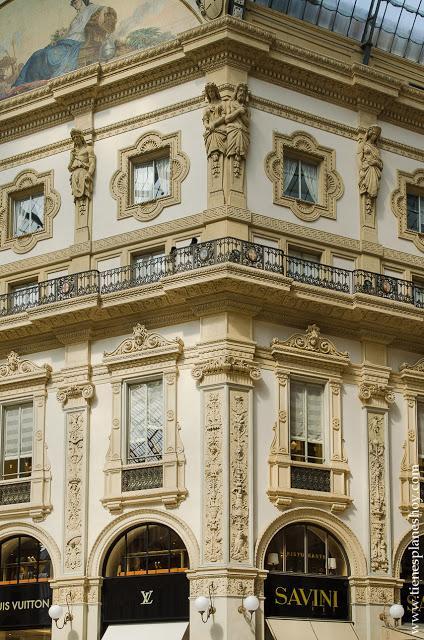 Galeria Vittorio Enmanuelle II viaje Milan Italia