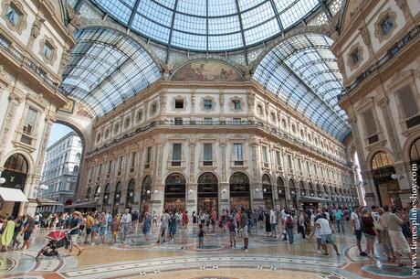 Galerías Victor Enmanuelle II viaje Milán Italia turismo