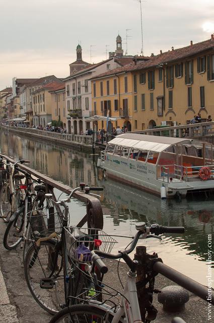 Turismo Milan visitar Navigli viaje por Italia