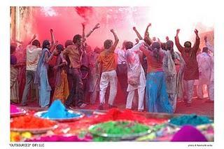 Festival de Holi, la fiesta de los colores india