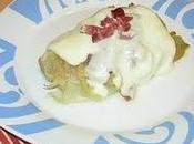 Endibias cebolla confitada, jamón queso (sin thermomix)