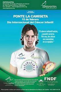 PONTE LA CAMISETA CONTRA EL CÁNCER INFANTIL