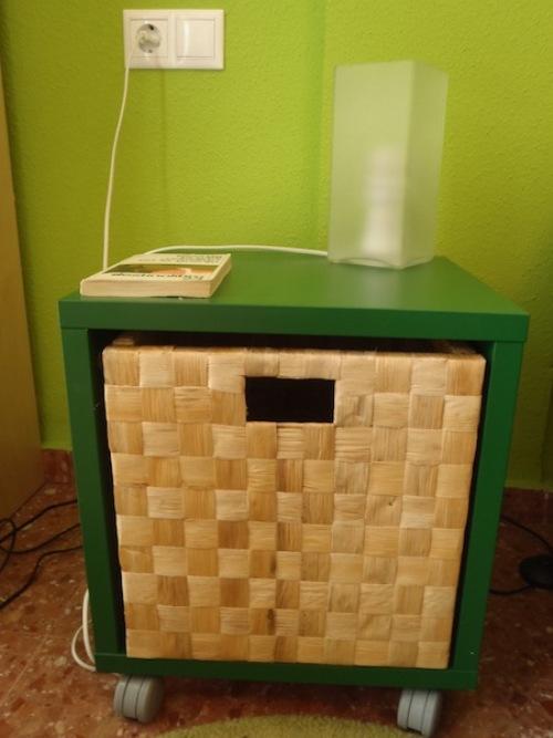Ikea hack la mesilla de aneta paperblog for Mesillas de forja ikea