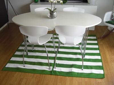 Ikea hack 2 alfombras peque as 1 grande paperblog - Alfombras pequenas ...