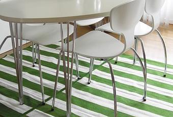Ikea hack 2 alfombras peque as 1 grande paperblog - Alfombras grandes ikea ...