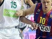 Lakovic triples rescatan Barça ante Panathinaikos Diamantidis estelar (83-82)
