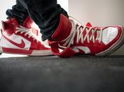 Carolina Nike Flytop Premium red/white