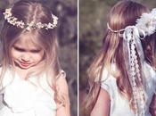 Diademas flores para niñas