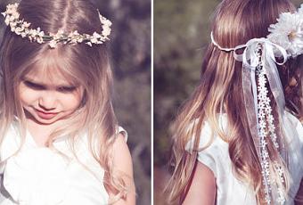 ff5f5016a Diademas y flores para las niñas - Paperblog