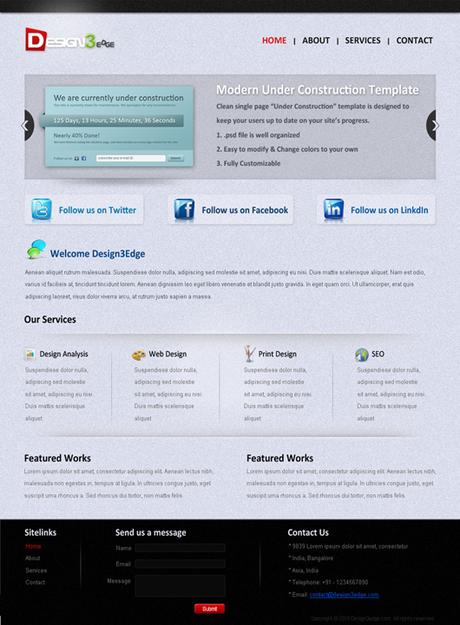 Portfolio Fresh WordPress Theme