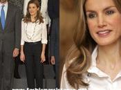 Otra jornada audiencias Zarzuela para Príncipes. Dña. Letizia eligió camisa blanca pantalón oscuro