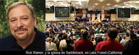 Rick Warren pide a los `cristianos pasivos´ que abandonen su iglesia