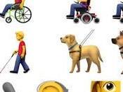 Emojis para representar discapacidad. Propuesta Apple.