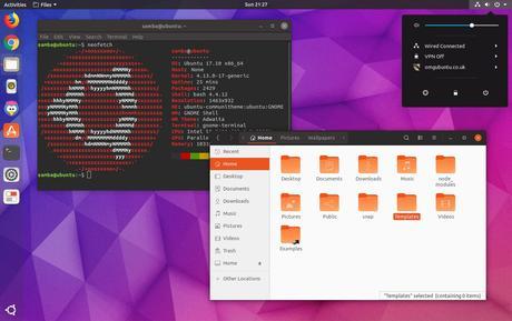 Ya puedes probar el nuevo tema de íconos y ventanas de Ubuntu 18.04 LTS