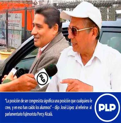 PERCY ALCALÁ-PRODUCTO DE LA LAMENTABLE POLÍTICA QUE ATRAVIESA EL PAÍS…