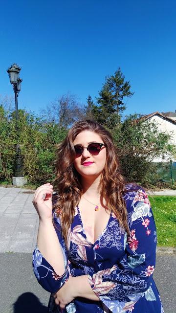 Maxi Dress con Xehar Curvy ~ Plus Size Curvy Girl