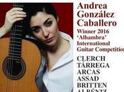 Andrea González Caballero: femenina guitarra española