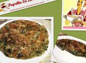 Tortilla borraja cebolla