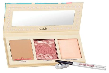 Novedades en Benefit: PRETTY IN THE USA SET y BLUSH BAR PALETTE