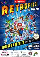 ¡Publicados todos los horarios de RetroPixel 2018!