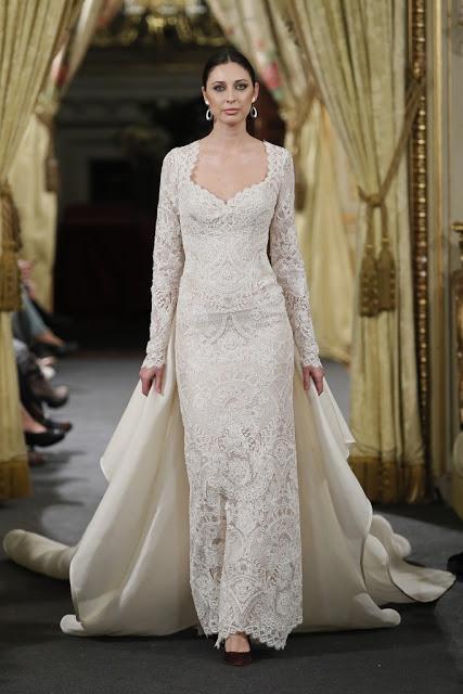 El glamour del Orient Express se pasea por Atelier Couture de la mano del diseñador Emilio Salinas