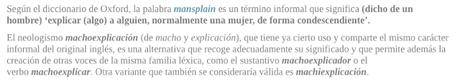LITERATURA ROMÁNTICA Y EL MANSPLAINING