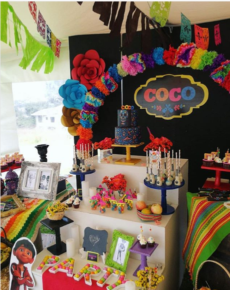 ideas para una fiesta de Coco